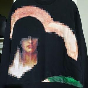 Givenchy Sweaters - Givenchy Men's 'Madonna' Print Sweatshirt (L)
